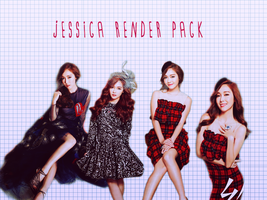 Pack PNG #19 Jessica (Girls Generation) by XieraaaPark