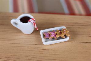 cookies and hot chocolate by MotherMayIjewelry
