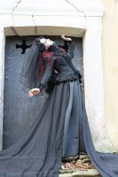 Stock - Gothic extreme pose somnabule by S-T-A-R-gazer