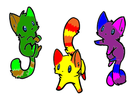 Kitty Adoptables-CLOSED! by superstel