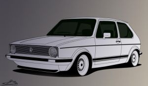 Golf mk1 by TheGiLe