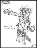 Star Fox OC: Chip Kyle by JECBrush