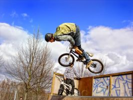 in the skatepark IV by mb-neo