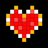 8-bit Heart Container by MetalShadowOverlord