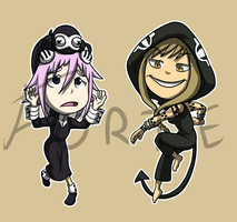 Stickers: Soul Eater 4 by forte-girl7