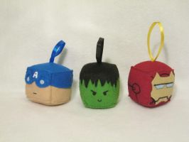 Avengers Cubes by PlushWorkshop