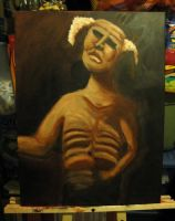 Oil painting- Layer two by AzombiesTool