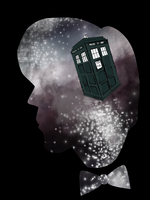 Doctor Who Tardis in Space Design by Pro-Shower-Singer
