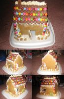 Gingerbread House by yohlenyaoilover