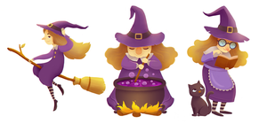 Witches by boOnsai