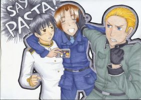 Hetalia: Say Pasta by KanraKami