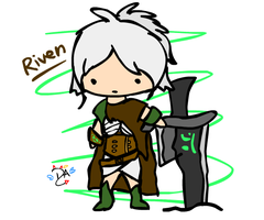 League Of Legends - Riven by dcheeky-angel