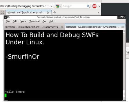 Building and Debugging SWFs by SmurfInOR