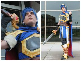 Marth - Super Smash Brothers Wii U/3DS Cosplay by legalrehab