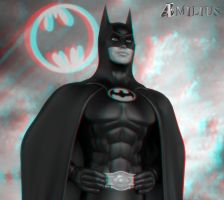 BATMAN (anaglyph) by aemiliuslives