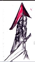 Pyramid Head 1 by suarezart
