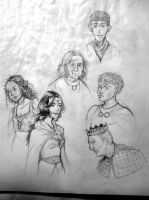 Merlin Sketches by supervannah