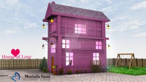House of Love .C4D by msk11