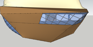 Airship W.I.P.3 - Cockpit by ElectricCoffee