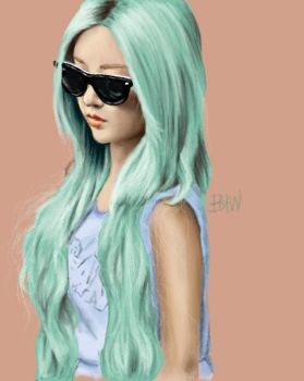 Qri Speed Paint by brandymarie87