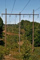 A View of The Powerlines by Crematia18