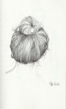 Hair Study updo by birgithececilie