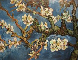 Almond Blossoms - Van Gogh by laiquendi-elf