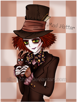 Mad Hatter color by Eilyn-Chan