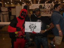 Dead Pool is here by DamageArts