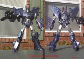Universe Cyclonus Repainted by Unicron9