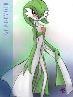 The Lady Gardevoir by Jbaaron