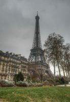 Eiffel Tower by marschall196