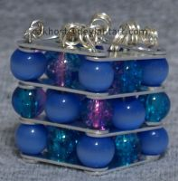 Glass Bead Box Pendant by cakhost