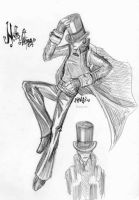 Top hats and tails. by Pinnku