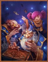 hearthstone by linxz2010