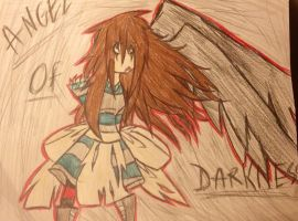 Angel of Darkness by FallenAngelKayaxx5