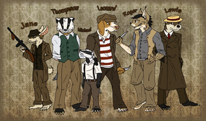 1930s Characters by AmiliaLongTail