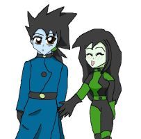 Dr.Drakken and Shego AS by lady-warrior