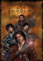 BBC The Musketeers by DarkKnight81