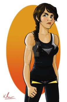 Catching Fire: Katniss by FalseHope04