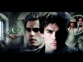 . brothers wallpaper . by ImprintedVampire