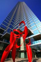 Bank Of America Plaza by ChibiLavos