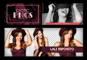 Pack Png 648 // Lali Esposito by ExoticPngs