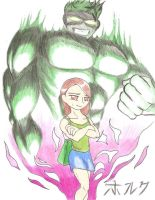 Fred The Hulk by DrMadison