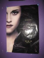 My Breaking Dawn Part 2 Poster On Purple Wall by EspioArtwork