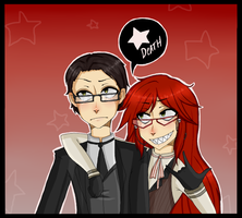 Will n Grell by B4CKBONE