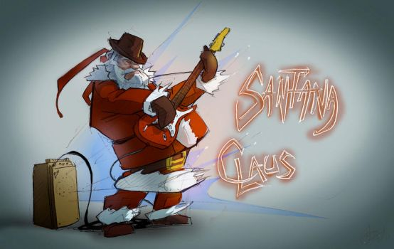 Santana Claus by greeni-studio