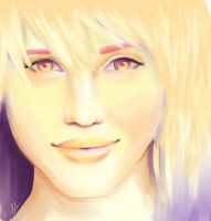 Dianna portrait by Faberry-shipper