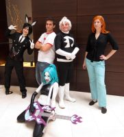 ACen 2012 Danny Phantom Group by MomoKurumi