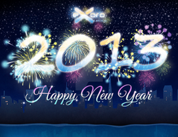 Exoro Choice's 2013 New Year Wishing Cards 05 by ExoroDesigns
